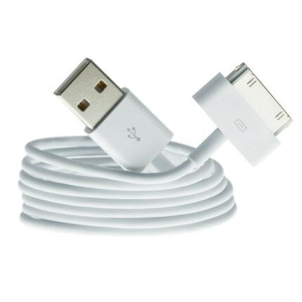 Adatkábel, Apple iPhone 3, 4, fehér