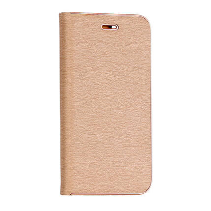 Oldalra nyíló flip tok, Samsung G960 Galaxy S9, Vennus - arany