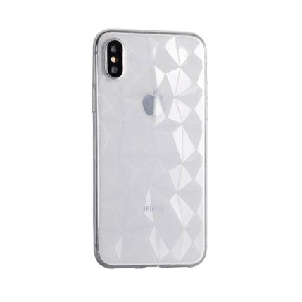 Szilikon tok, Huawei P20 Lite, Diamond - átlátszó
