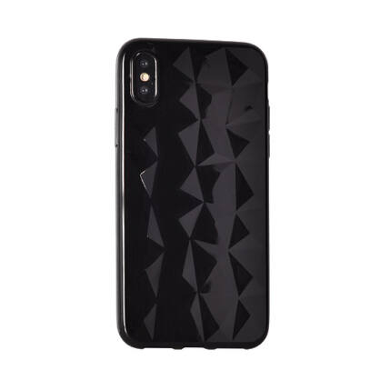 Szilikon tok, Xiaomi Redmi 5, Diamond - fekete