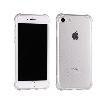 Szilikon tok, Apple iPhone XR, Ütésálló (0,5mm) - átlátszó