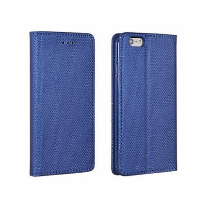 Oldalra nyíló flip tok, Huawei Mate 20 Lite, Smart, kék