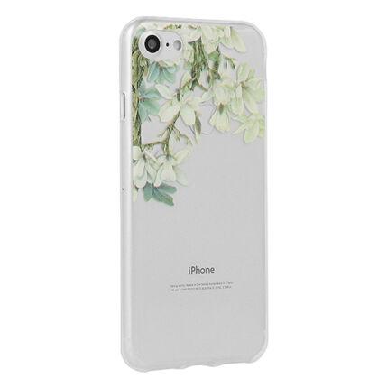 Szilikon tok, Apple iPhone X, Floral - Jasmine
