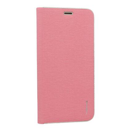 Oldalra nyíló flip tok, Apple iPhone 6, 6S, Vennus, rózsaszín