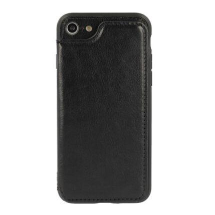 Szilikon tok, Huawei Mate 20 Pro, Wallet Business, fekete