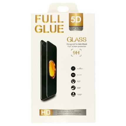 Xiaomi Mi 9 Lite, Kijelzővédő fólia, (ütésálló) Full Glue 5D, fekete