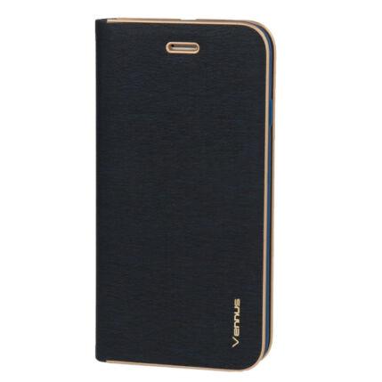 Samsung A207 Galaxy A20S, Oldalra nyíló flip tok, Vennus, kék