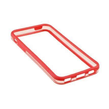 Apple iPhone 5C, Védőkeret (bumper), piros