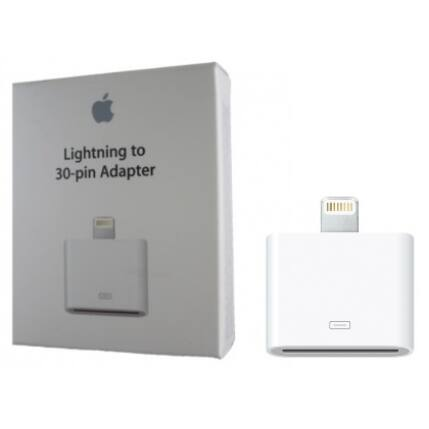 Adapter, Apple iPhone 30pin to Lightning (MD823ZM/A)**
