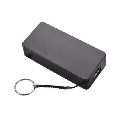 Külső akkumulátor,  5200mAh, fekete Setty