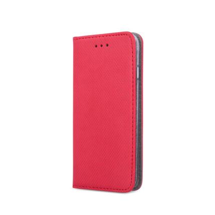 Oldalra nyíló flip tok, Xiaomi Redmi 6A, Smart - piros