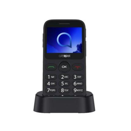 Alcatel OT-2019G (+Domino Fix Kártyával), Mobiltelefon, szürke