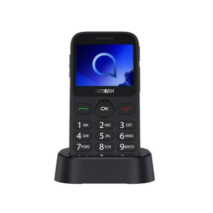 Alcatel OT-2019G, Mobiltelefon, szürke