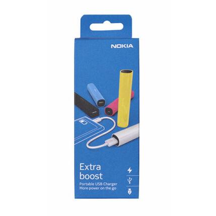 Külső akkumulátor,  2200mAh, fekete Nokia DC-16
