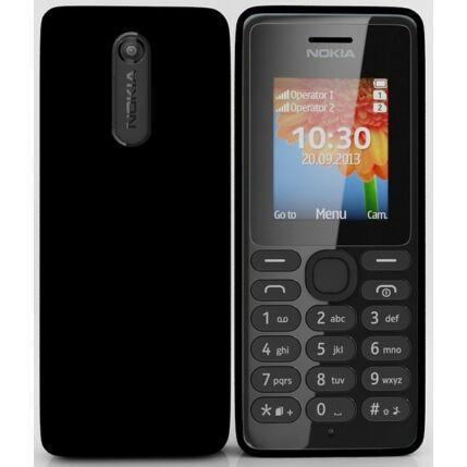 Mobiltelefon, Nokia 108 DualSIM, fekete