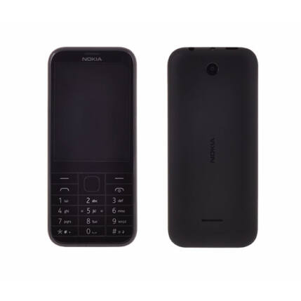 Mobiltelefon, Nokia 225 DualSIM, fekete