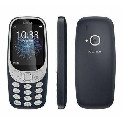 Mobiltelefon, Nokia 3310 DualSim 2017, kék
