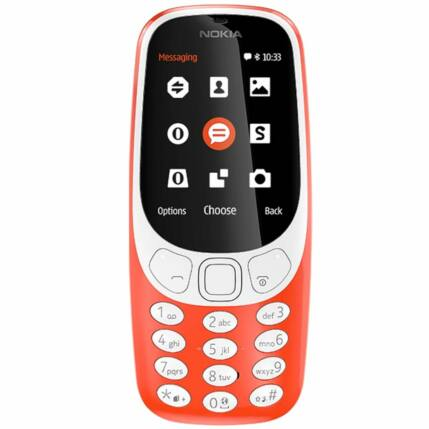 Nokia 3310 DualSIM 2017, Mobiltelefon, piros