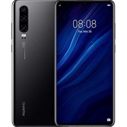 Huawei P30 128GB DualSIM, (Kártyafüggetlen 1 év garancia), Mobiltelefon, fekete