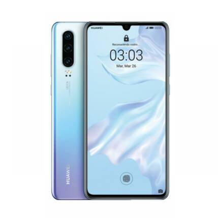 Huawei P30 128GB 6GB RAM DualSIM, (Kártyafüggetlen 1 év garancia), Mobiltelefon, kék-lila