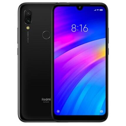 Xiaomi Redmi 7 64GB DualSIM, (Kártyafüggetlen 1 év garancia), Mobiltelefon, fekete