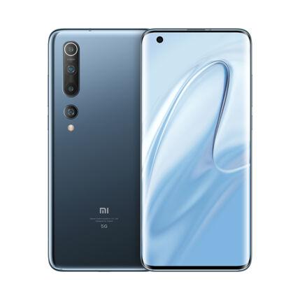 Xiaomi Mi 10 5G 128GB 8GB RAM SingleSIM, (Kártyafüggetlen 1 év garancia), Mobiltelefon, onyx grey