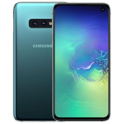 Samsung G970 Galaxy S10E 128GB DualSIM, Mobiltelefon, zöld