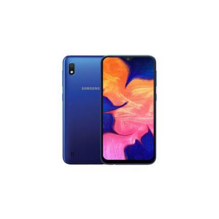 Samsung A105FD Galaxy A10 32GB DualSIM, (Kártyafüggetlen 1 év garancia +Domino Fix Kártyával), Mobiltelefon, kék