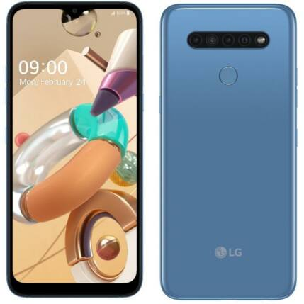 LG LM-K410EM K41S 32GB 3GB RAM DualSIM, Mobiltelefon, kék