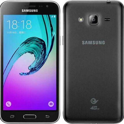 Mobiltelefon, Samsung J320F Galaxy J3 2016 DualSIM, fekete
