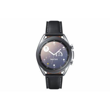 Samsung R850 Galaxy Watch 3 41mm, SM-R850NZSAEUE, Okosóra, ezüst