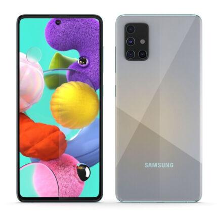 Samsung A515 Galaxy A51 128GB 4GB RAM DualSIM, Mobiltelefon, ezüst