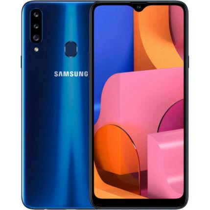 Samsung A207F Galaxy A20S 32GB 3GB RAM DualSIM, (Kártyafüggetlen 1 év garancia), Mobiltelefon, kék