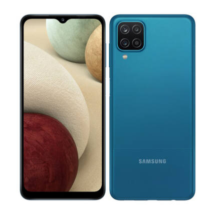 Samsung A125F Galaxy A12 64GB 4GB RAM DualSIM, (Kártyafüggetlen 1 év garancia), Mobiltelefon, kék