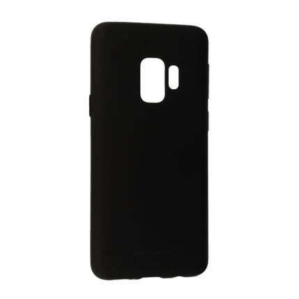 Szilikon tok, Samsung G960 Galaxy S9, Soft - fekete